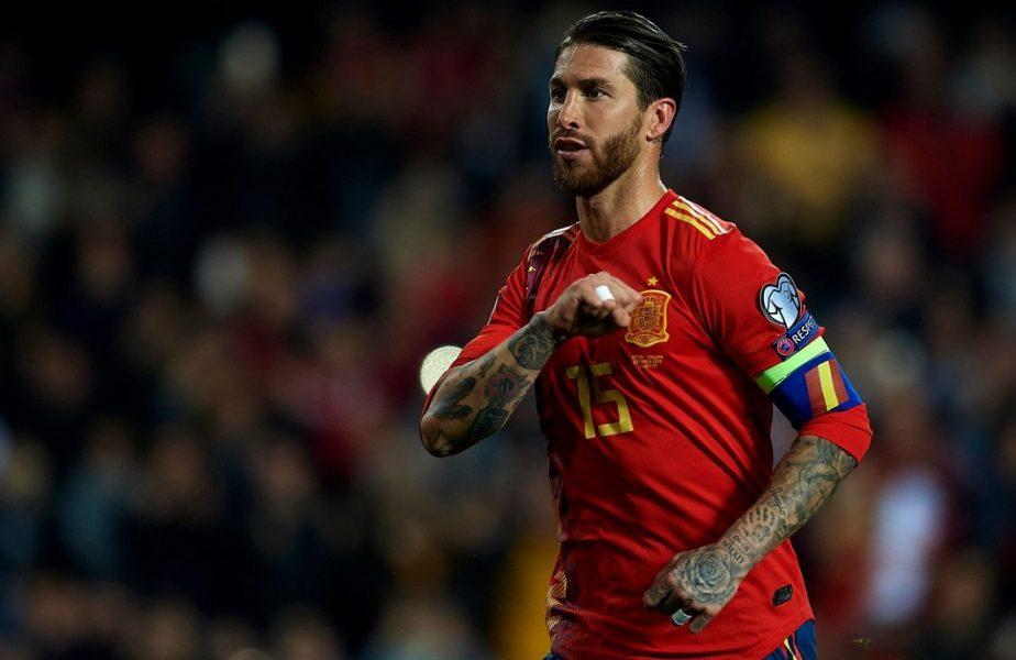 """Sergio Ramos, prima reacție după ce Luis Enrique l-a lăsat în afara lotului pentru EURO 2020: """"Mă doare!"""""""