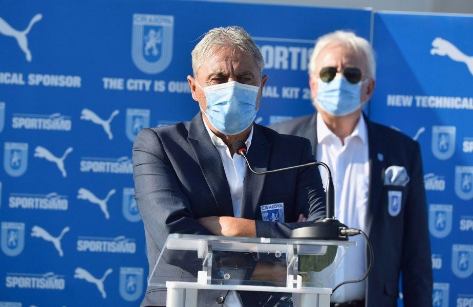 """Se caută înlocuitorul lui Sorin Cârţu la Universitatea Craiova! Fanii olteni aleg următorul preşedinte al clubului. Prima reacţie a lui """"Sorinaccio"""""""