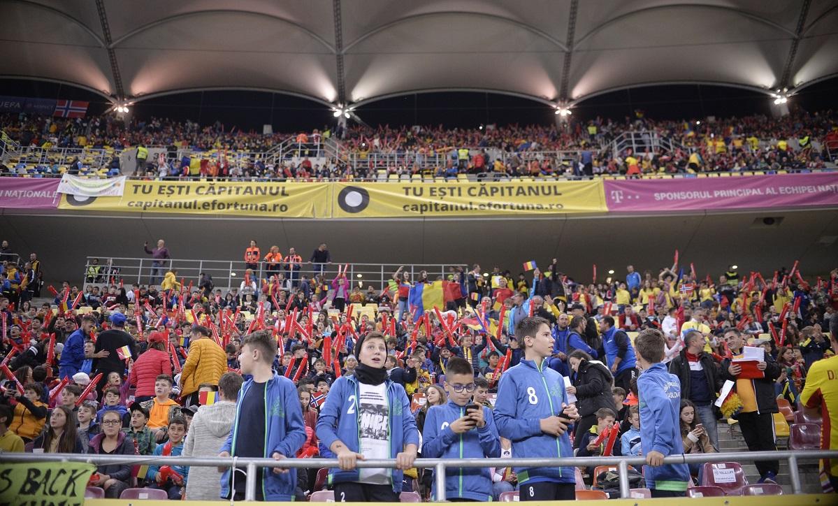Spectatori Arena Naţională