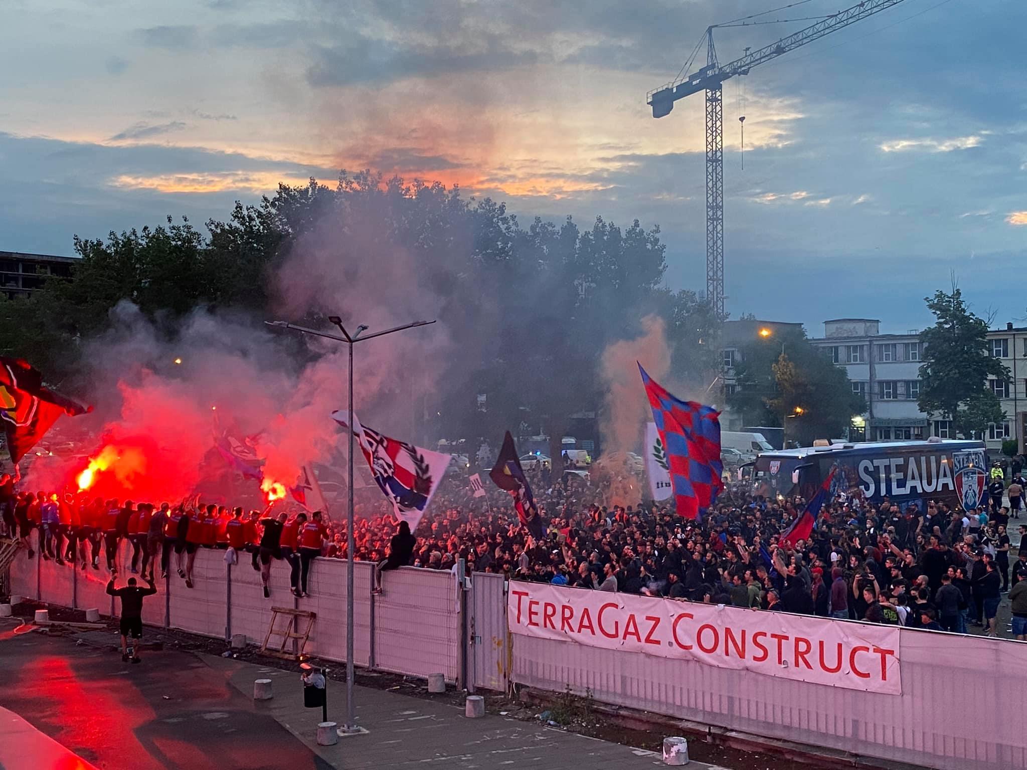 Fani CSA Steaua bucurie