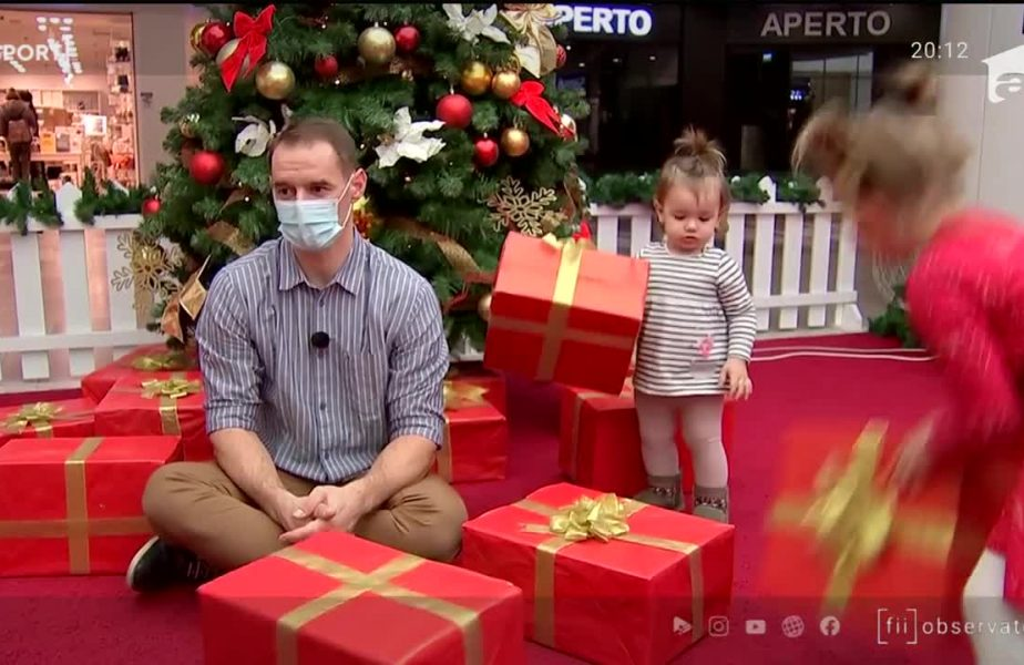 Moș Crăciun virtual