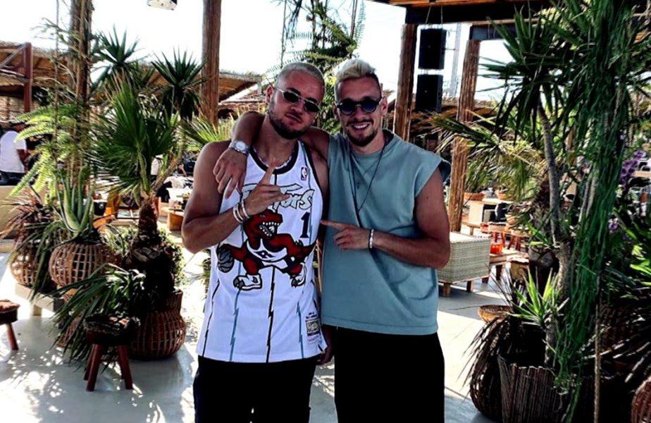 Puşcaş şi Radu au fugit în Ibiza Greciei, Mykonos