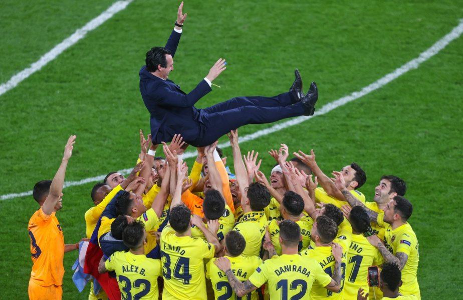 """Unai Emery şochează după finala Europa League, în care Villarreal a transformat 11 penalty-uri din 11. """"Nu am lucrat la penalty-uri"""""""