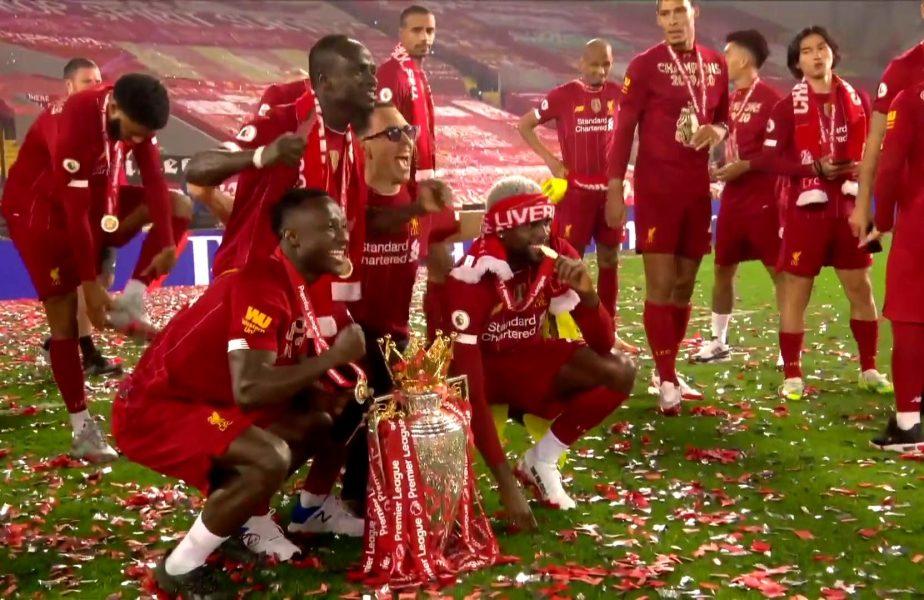Brazilianul Fabinho a fost jefuit în timp ce Liverpool celebra titlul venit după 30 de ani
