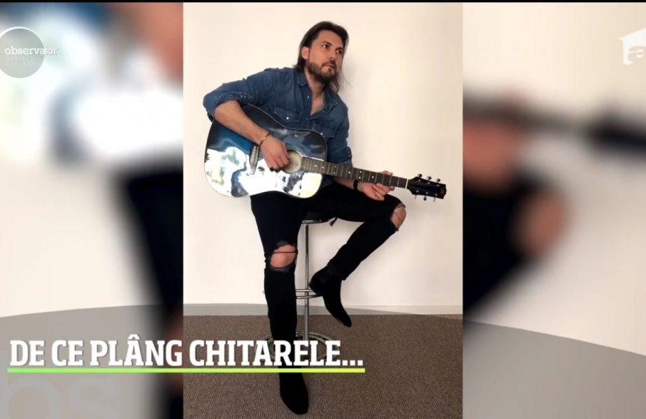 Antrenorul lui Neagu și Pintea de la CSM, Adi Vasile, S-a apucat să cânte la chitară!