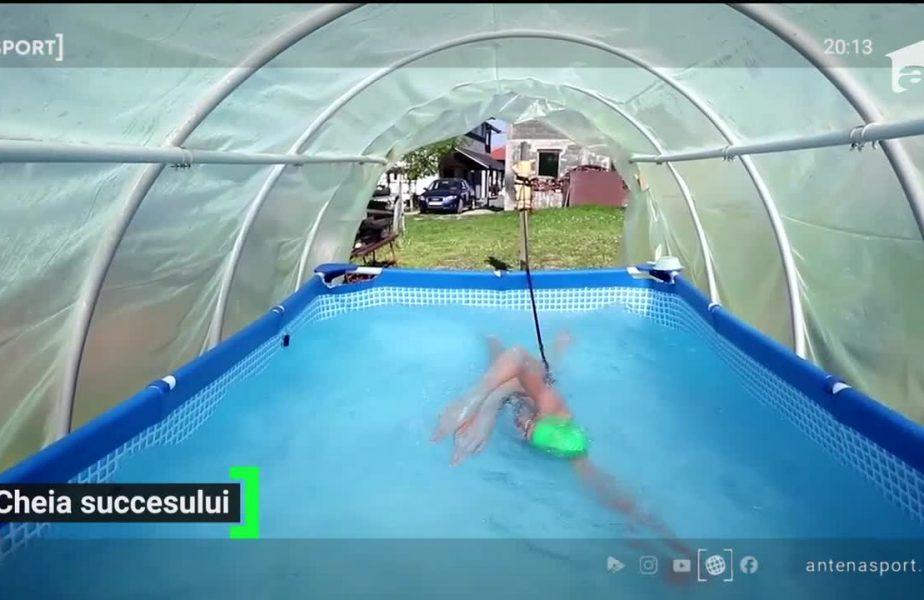 Cea mai bună înotatoare din Bosnia, viață grea în izolare