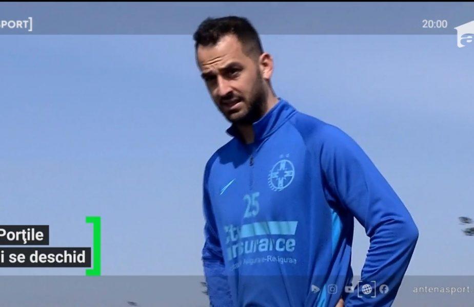 FCSB l-a chemat pe grecul Soiledis la antrenamente