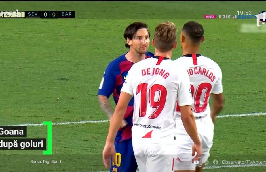 Messi a ratat șansa să marcheze golul 700 al carierei