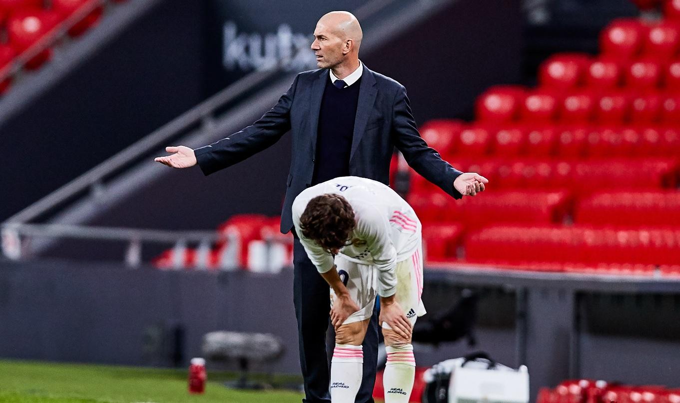 Zinedine Zidane a răbufnit după meciul cu Bilbao