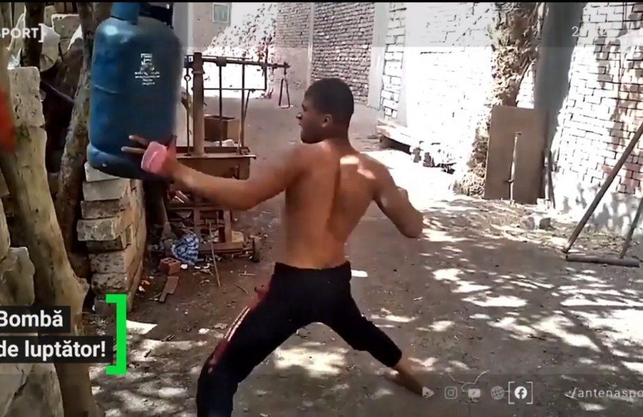 Luptătorul cu pumni de fier!