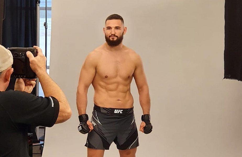 Negumereanu luptă în UFC! Românul poate scrie istorie în MMA-ul românesc în această noapte