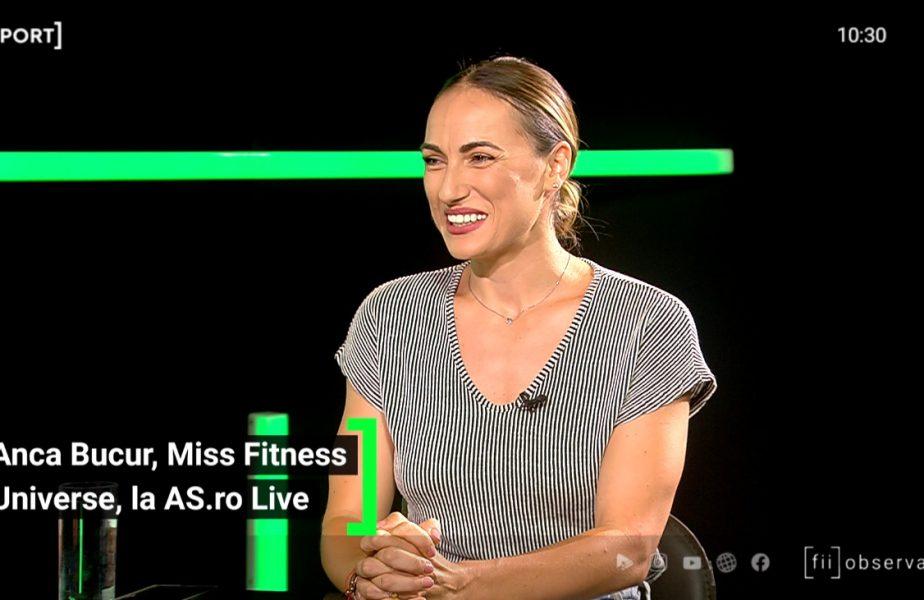 """Miss Fitness Universe! Anca Bucur, poveste de film! """"Vreau să fiu legendă!"""" Cum i-a uimit pe americani: """"Am ajuns singură în Miami!"""""""