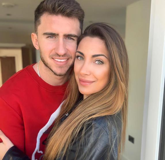 Aymeric Laporte şi Sara Botello/mundodeportivo