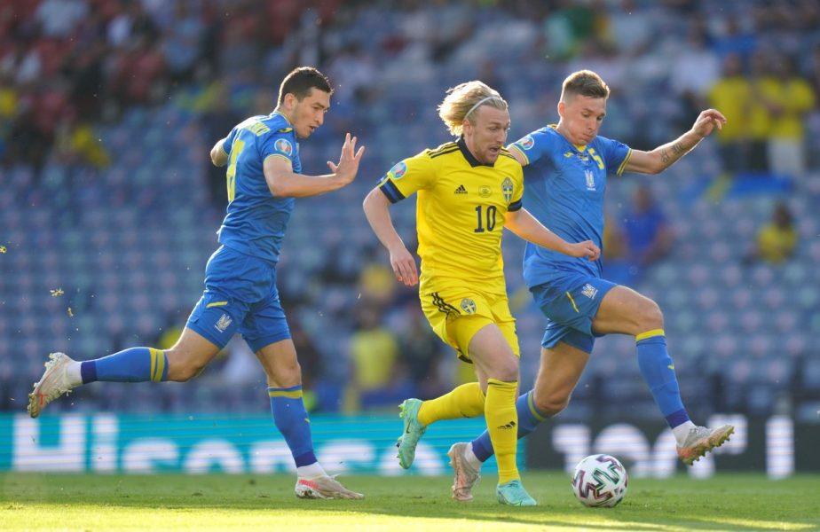 EURO 2020   Suedia – Ucraina 1-2. Final dramatic la Glasgow! Naţionala condusă Shevcenko scrie istorie! Artem Dovbyk a marcat golul decisiv în minutul 120+1