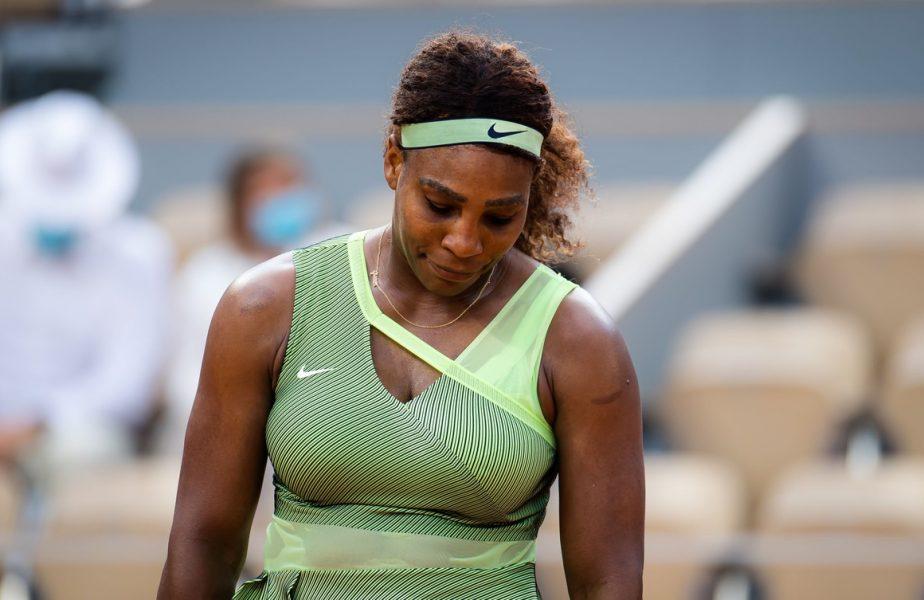 """Serena Williams, eliminată în optimile de finală de la Roland Garros 2021! Prima reacţie a americancei: """"A fost un sezon dificil!"""""""