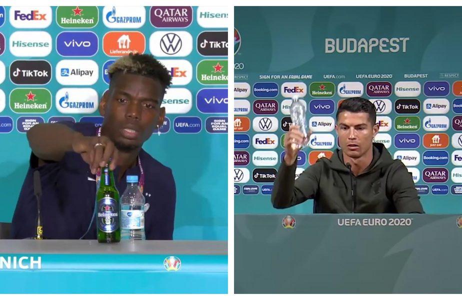 UEFA le cere jucătorilor să lase sticlele în pace