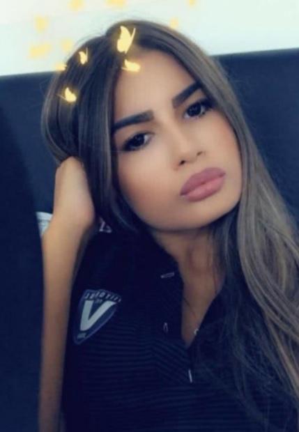 Vanessa, iubita lui Denis Drăguş / Facebook