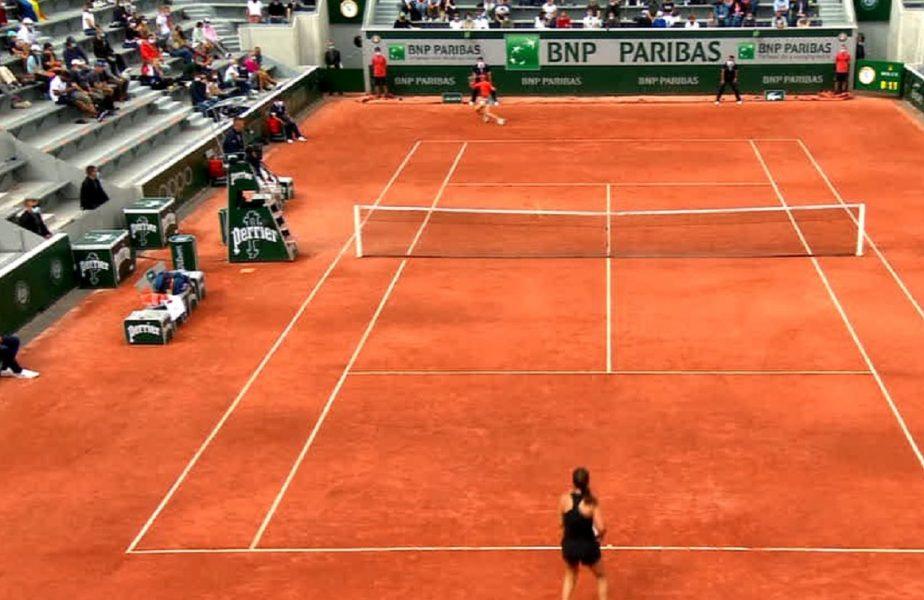 Roland Garros 2021 | Sorana Cîrstea, aproape de o accidentare horror! Românca a avut nevoie de ajutorul medicului în meciul cu Daria Kasatkina