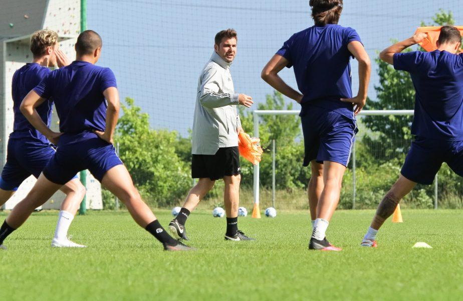 Scandal monstru la amicalul lui FC U Craiova! Adrian Mutu a scos echipa de pe teren. Jucătorii au sărit la bătaie