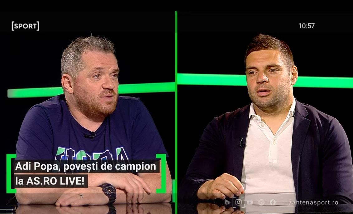 """EXCLUSIV AS.ro LIVE   """"Revenirea la FCSB a fost greșeala carierei!"""" Adi Popa a dat cărțile pe față: """"Am crezut în cuvântul dânsului!"""" Ce i-a spus Becali la ultima întâlnire"""
