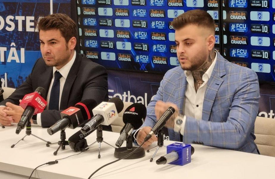 """Adrian Mutu a fost prezentat oficial la FC U Craiova 1948: """"Nu am venit să fac act de prezenţă!"""""""