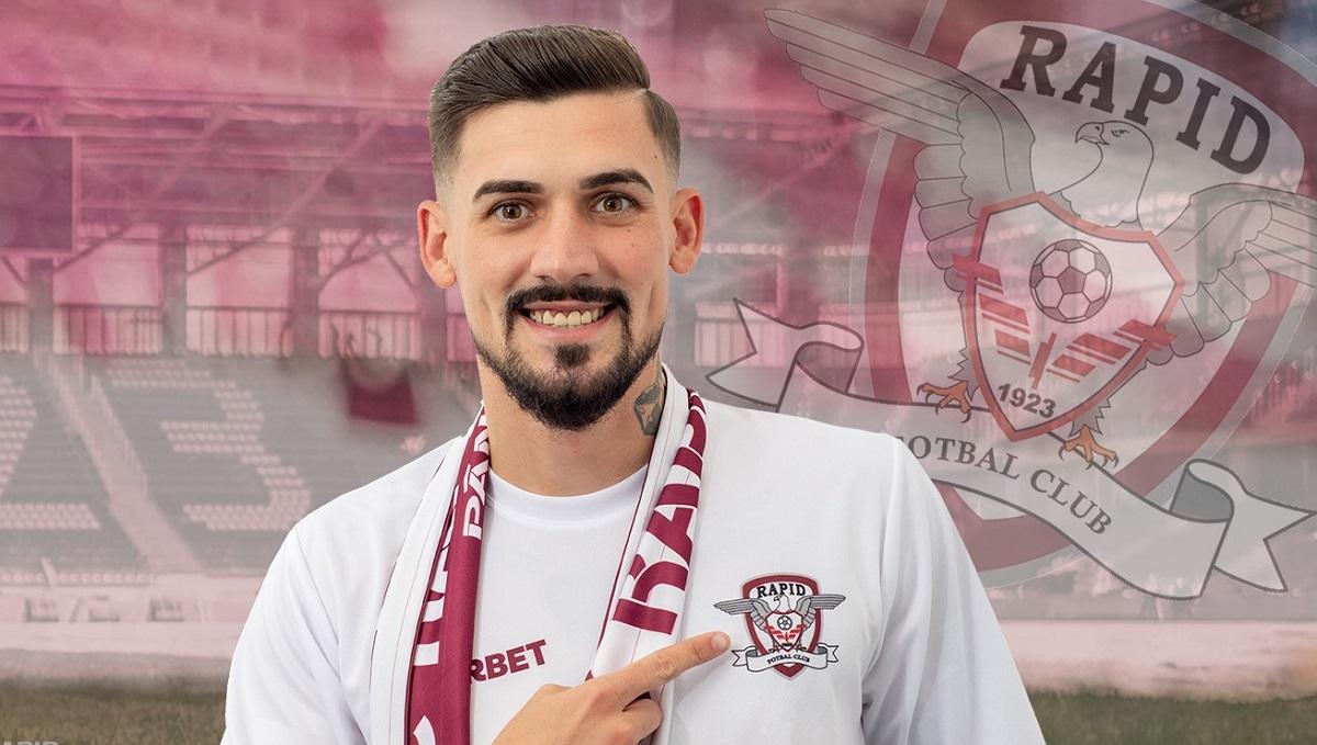 Alexandru Albu a semnat cu Rapid