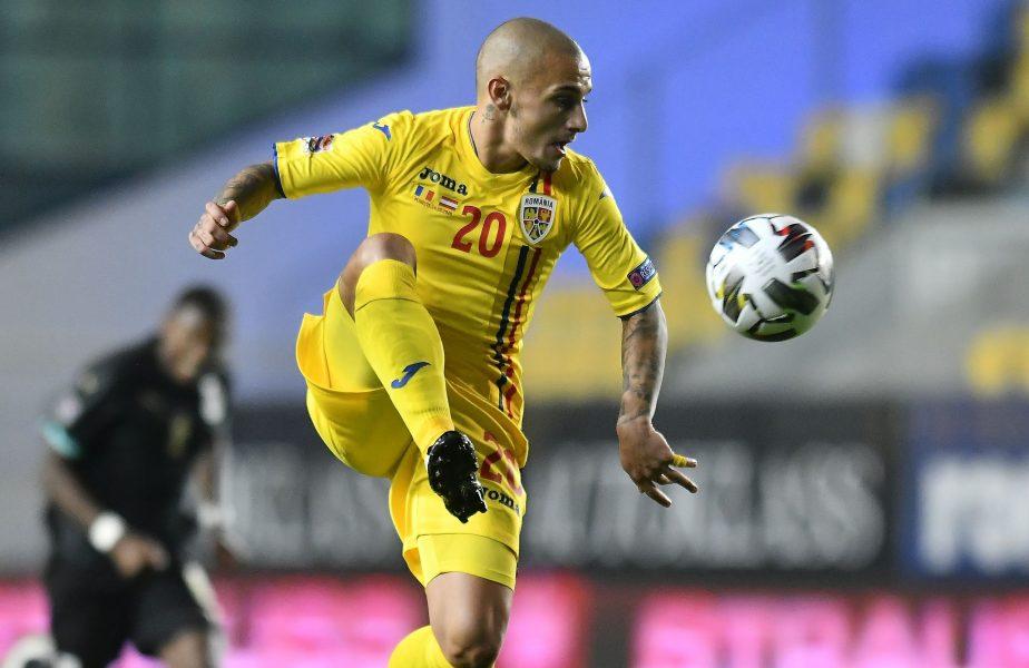 Alexandru Mitriţă, în tricoul echipei naţionale