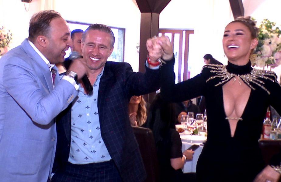 Anamaria Prodan şi Laurenţiu Reghecampf, imagini fabuloase de la petrecerea cu lăutari în care şi-au reînnoit jurămintele. Cei doi soţi au făcut show