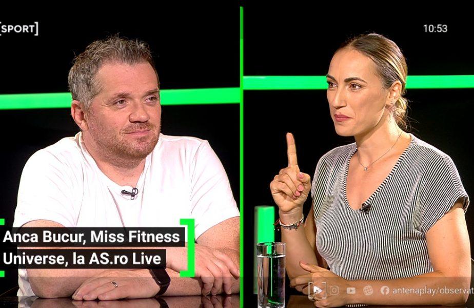 """Anca Bucur, poveste fabuloasă de la Miss Fitness Univers: """"La al șaselea titlu mi-am alăptat copilul în timpul concursului!"""""""