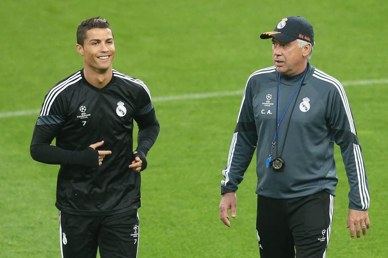 """Carlo Ancelotti, prezentat oficial la Real Madrid! Ce a spus antrenorul """"galacticilor"""" despre revenirea de senzaţie a lui Cristiano Ronaldo pe Bernabeu"""