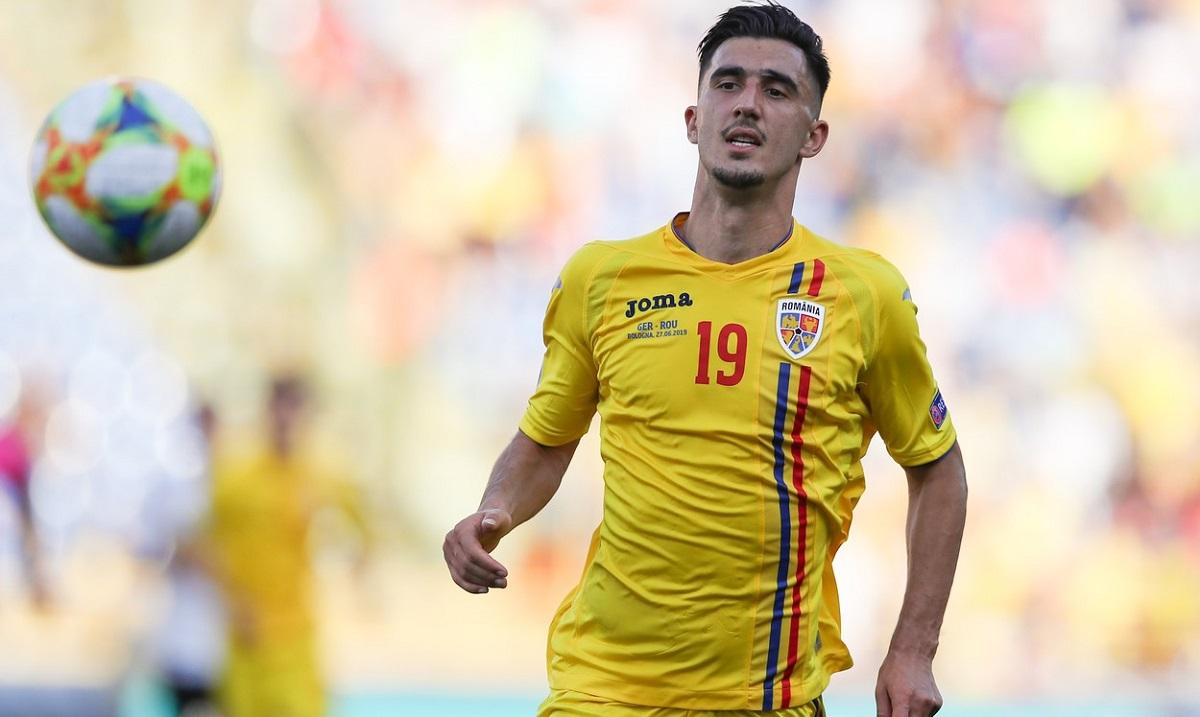 Andrei Ivan, în tricoul echipei naţionale a României