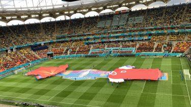 Euro 2020 | Imagini superbe de pe Arena Naţională! România găzduieşte primul meci din istorie la un turneu final. Atmosferă de senzaţie pe cel mai mare stadion al ţării