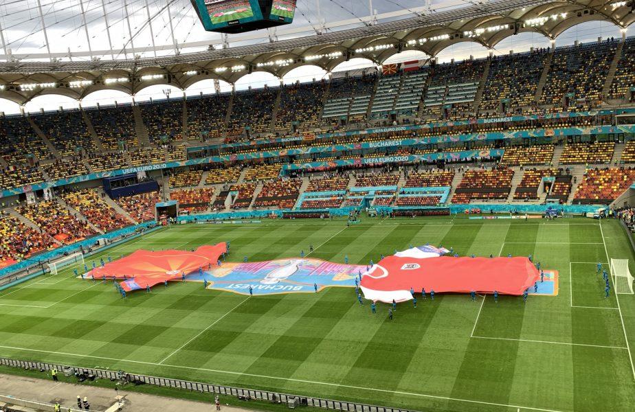 Euro 2020 | Imagini superbe de pe Arena Naţională! A apărut şi curcubeul! România a găzduit primul meci din istorie la un turneu final
