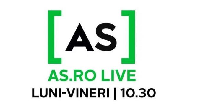 Mircea M. Ionescu, la AS.ro LIVE