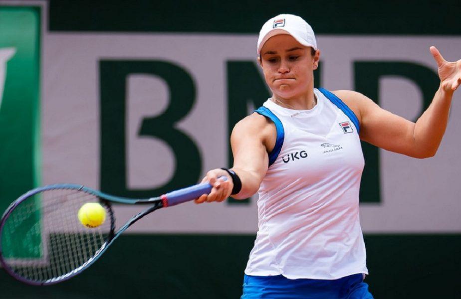 Roland Garros 2021 | Ashleigh Barty s-a retras! Liderul mondial s-a accidentat în timpul meciului din turul 2
