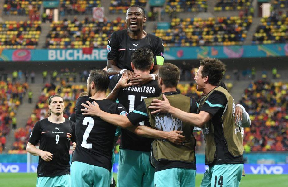 Euro 2020 | Austria – Macedonia de Nord 3-1. Meci nebun pe Arena Naţională! Cele mai multe goluri de la Campionatul European s-au marcat la Bucureşti