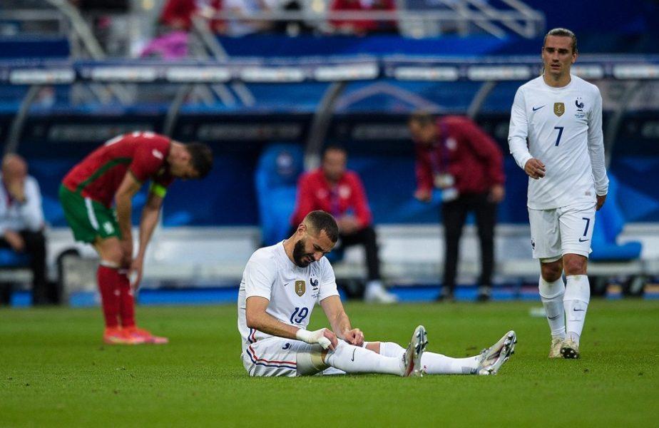 Verdict final în cazul accidentării lui Karim Benzema! Ce se va întâmpla cu starul lui Real Madrid la EURO 2020