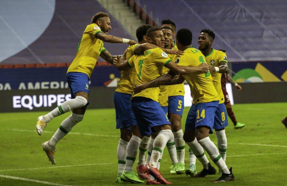 Brazilia, debut în forţă la Copa America! Neymar&co au făcut show cu Venezuela. Starul lui PSG se apropie de recordul legendarului Pele