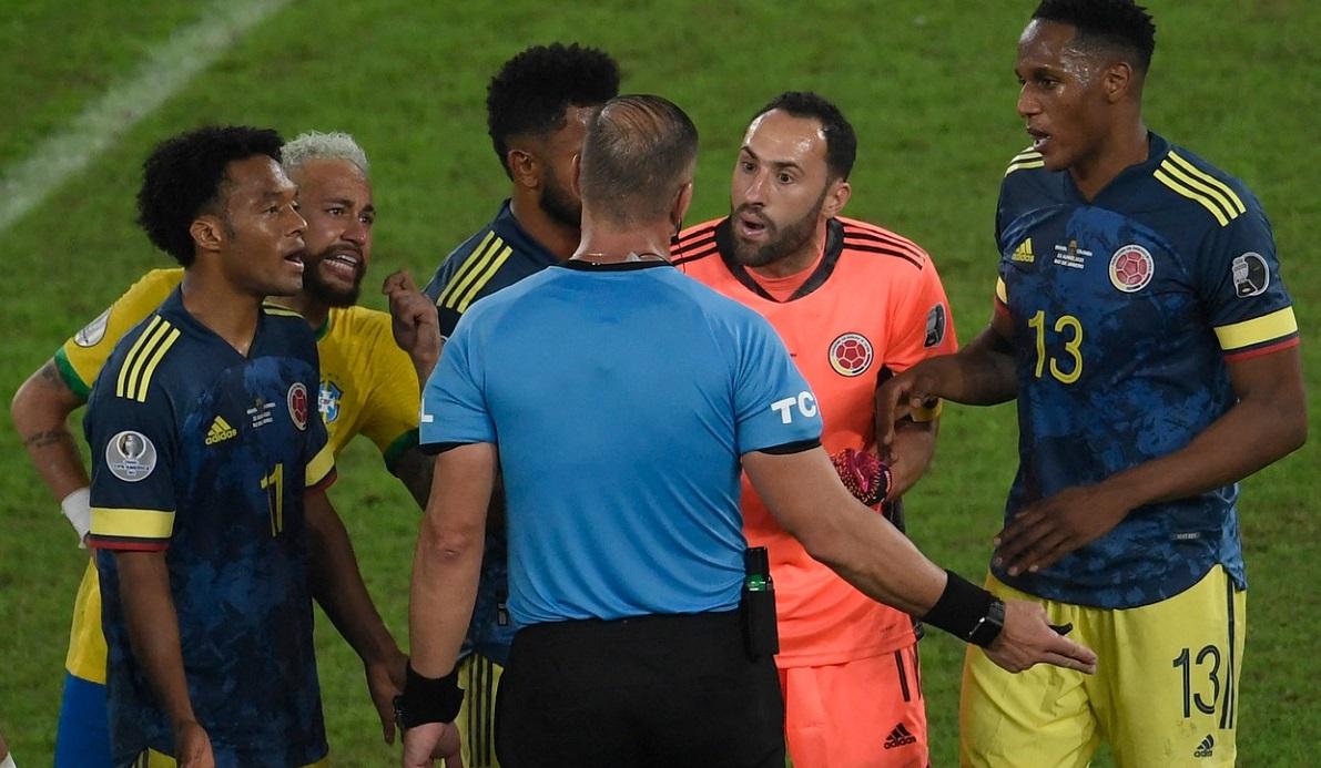 Scandal după Brazilia - Columbia 2-1