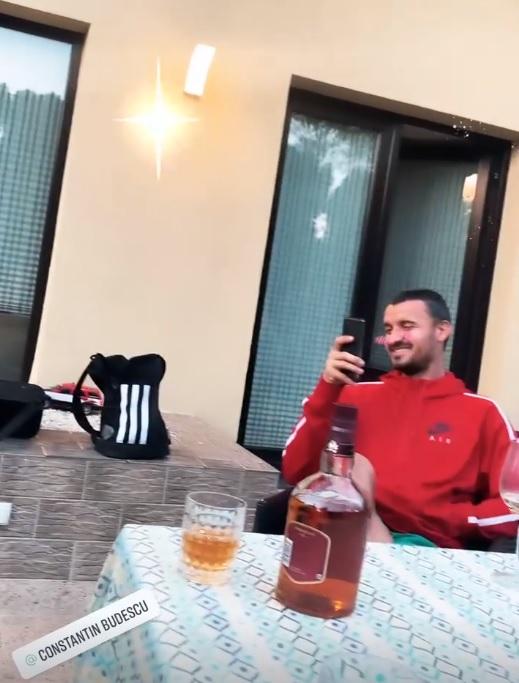Constantin Budescu, petrecere cu manele după înfrângerea cu Anglia
