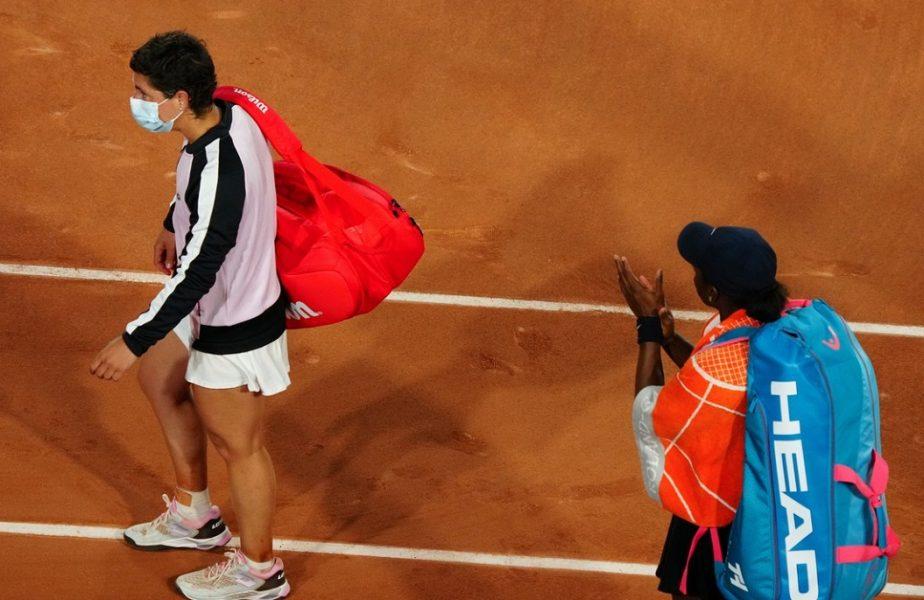 Carla Suarez Navarro, învinsă în primul tur de la Roland Garros. A câştigat cel mai important meci, cu cancerul. Ce i-a transmis Simona Halep în timpul partidei