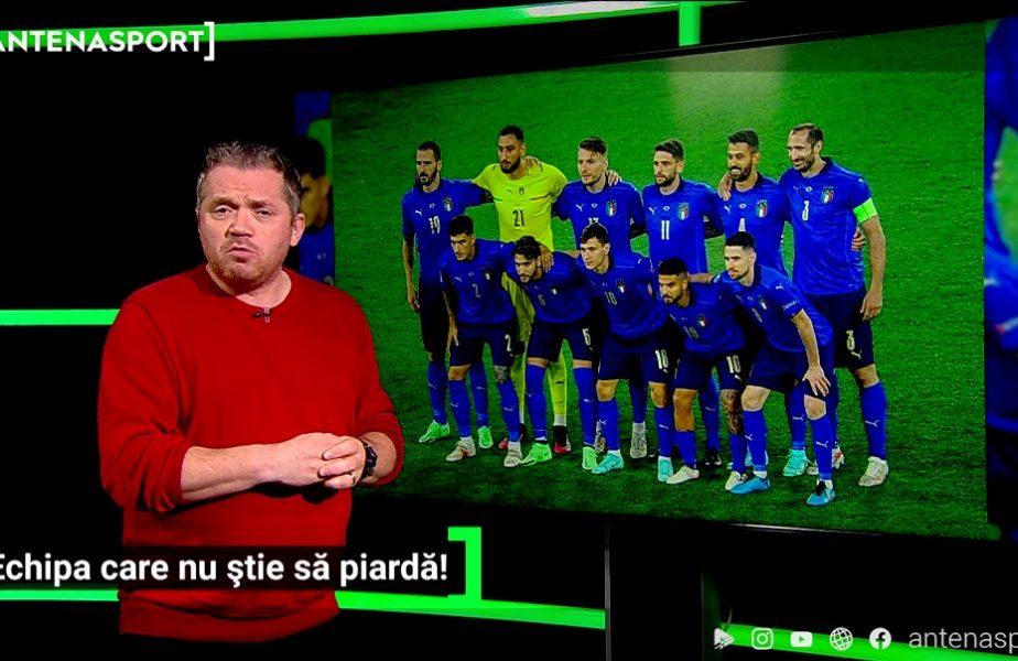 Un altfel de Euro 2020 | Italia nu știe cum arată la față o înfrângere. De 29 de meciuri!