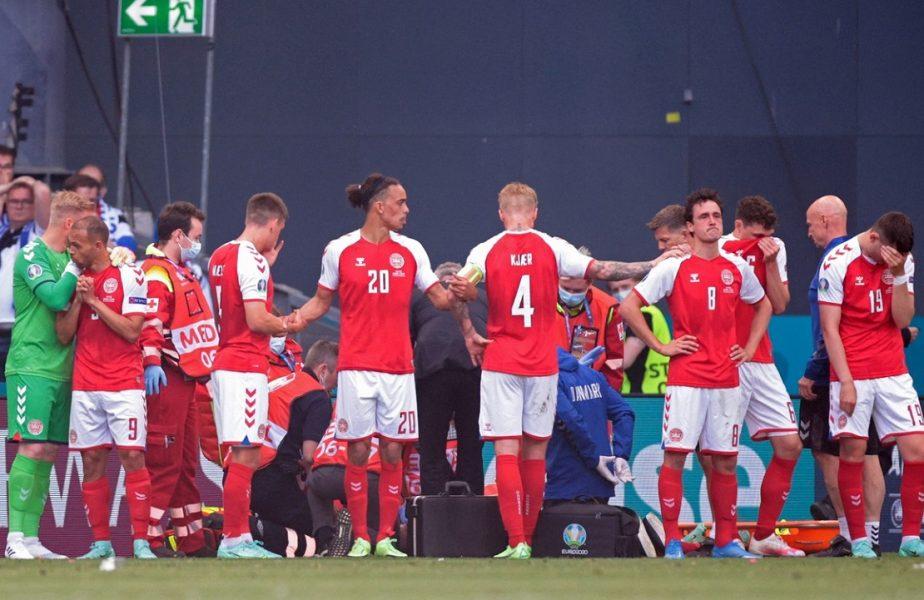 Christian Eriksen, Danemarca - Finlanda, Euro 2020
