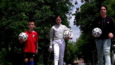 """Cei 4 copii care le ţin locul tricolorilor la EURO 2020: """"Am sărit în sus de bucurie!"""""""