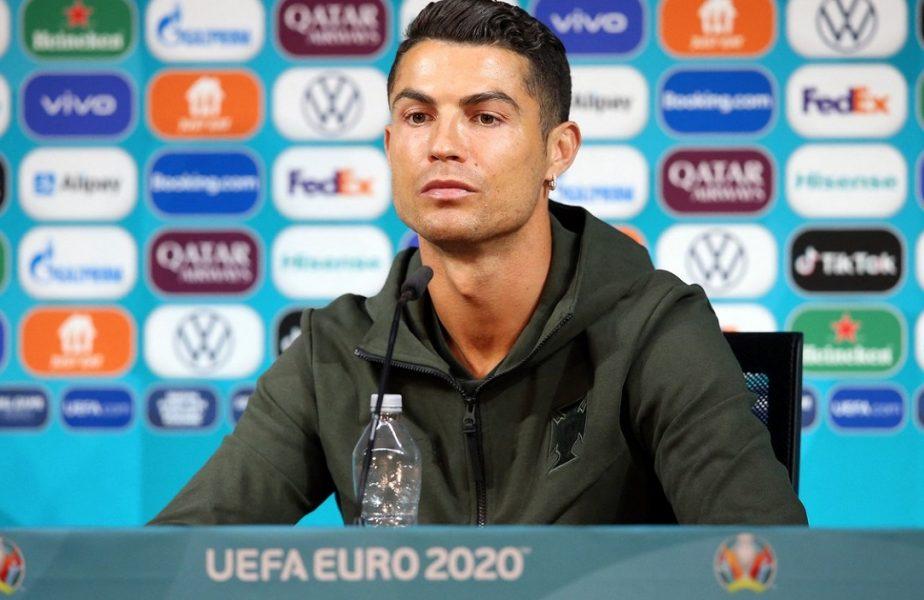 Acțiunile Coca-Cola au căzut cu 4 miliarde de dolari din cauza lui Cristiano Ronaldo