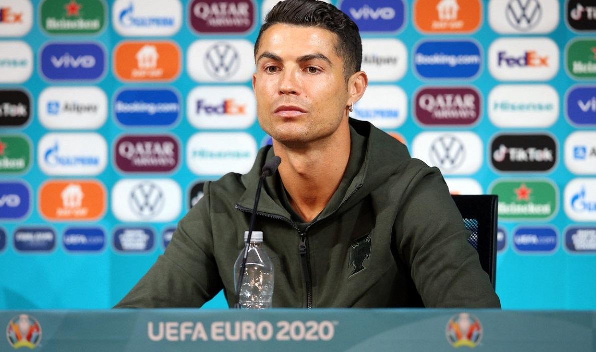 Marca: Gestul lui Cristiano Ronaldo a scăzut acțiunile la Coca-Cola cu 4 miliarde de dolari