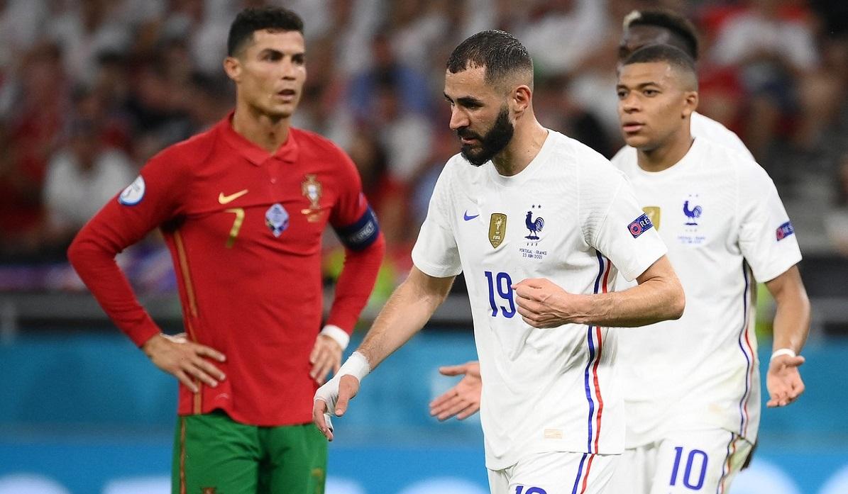 Ronaldo, Benzema și Mbappe, momente inedite