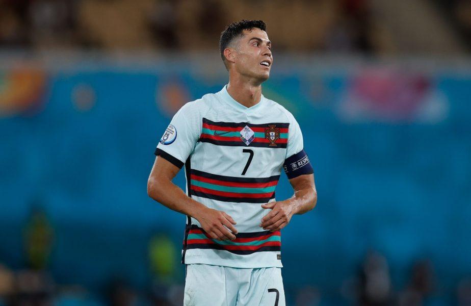 """Cristiano Ronaldo a """"turbat"""" după Belgia – Portugalia 1-0. Ce a putut face în drumul spre tunel"""