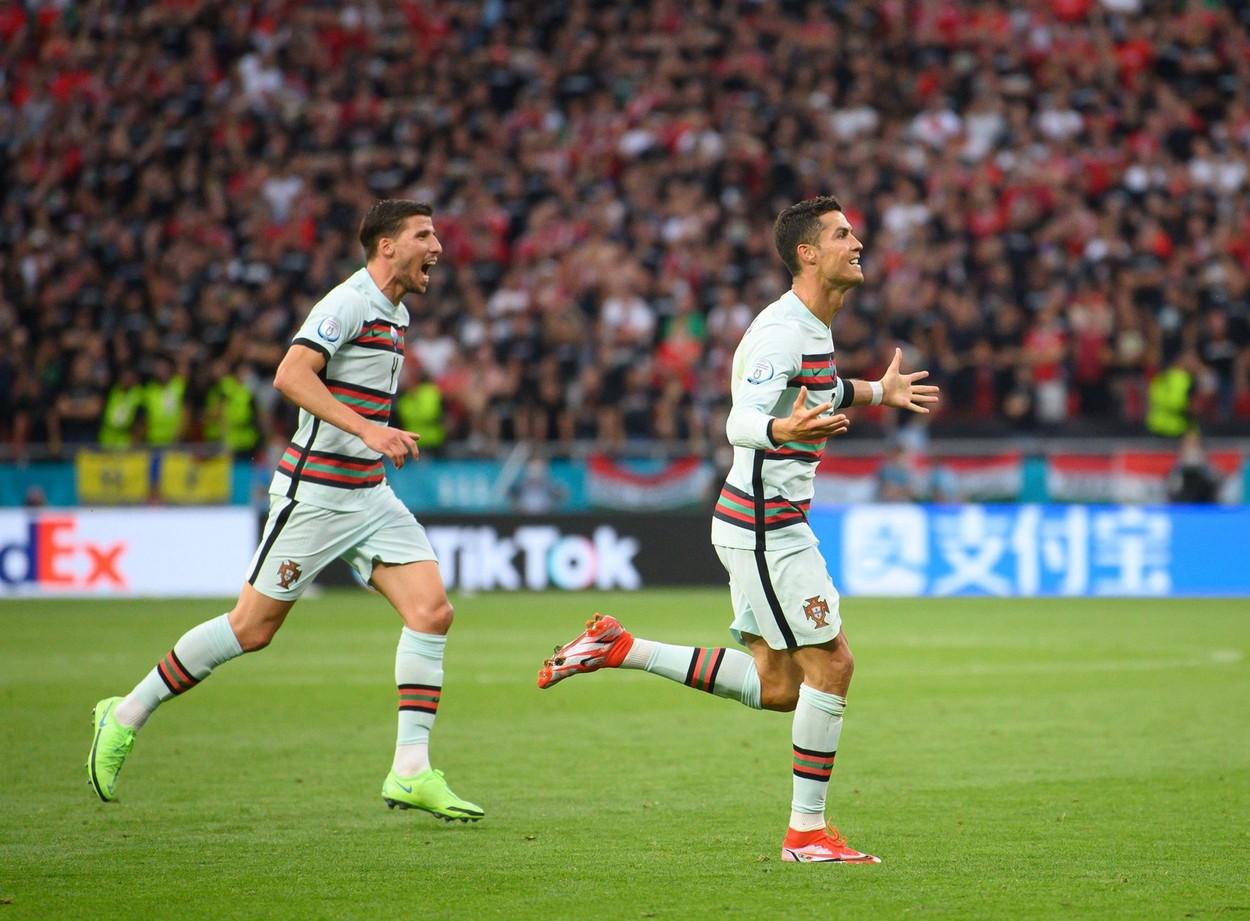 Cristiano Ronaldo, bucurie după gol