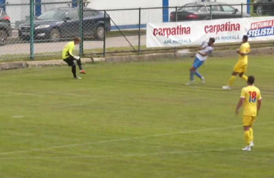 Meci cu de toate! Gol de tot râsul în amicalul CSA Steaua – Clinceni, urmat de o execuție superbă din lovitură liberă
